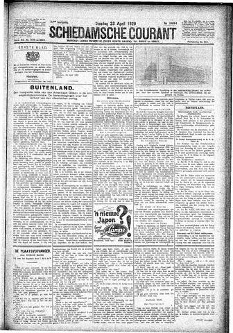 Schiedamsche Courant 1929-04-23