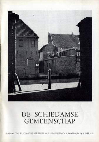 Schiedamse Gemeenschap (tijdschrift) 1952-07-01