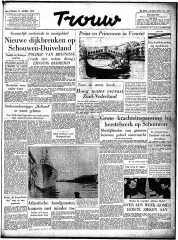 Trouw / De Rotterdammer 1953-04-13