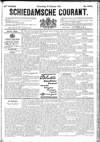 Schiedamsche Courant 1910-10-19