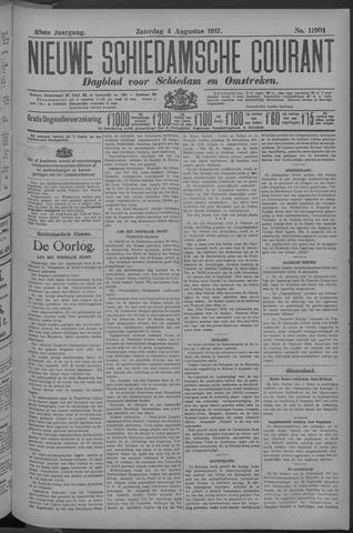 Nieuwe Schiedamsche Courant 1917-08-04