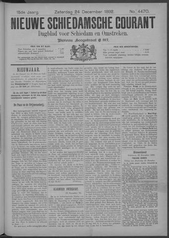 Nieuwe Schiedamsche Courant 1892-12-24