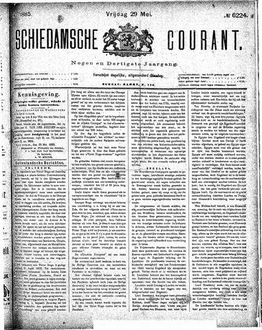 Schiedamsche Courant 1885-05-29