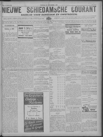 Nieuwe Schiedamsche Courant 1929-12-27