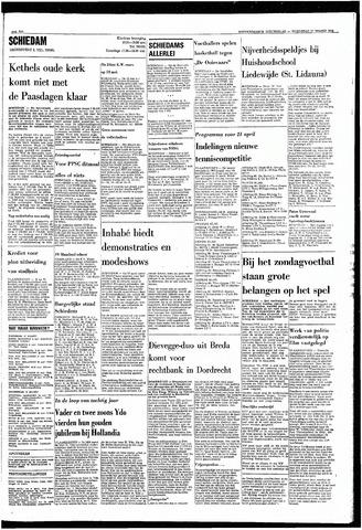 Rotterdamsch Nieuwsblad / Schiedamsche Courant / Rotterdams Dagblad / Waterweg / Algemeen Dagblad 1968-03-27