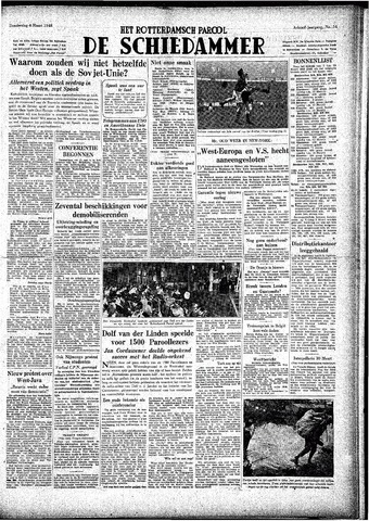 Rotterdamsch Parool / De Schiedammer 1948-03-04