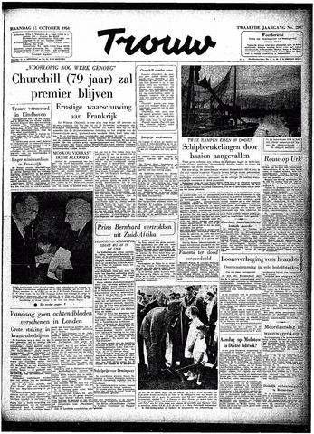 Trouw / De Rotterdammer 1954-10-11