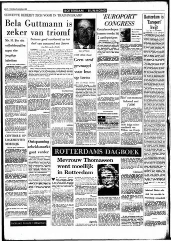 Rotterdamsch Parool / De Schiedammer 1966-11-09