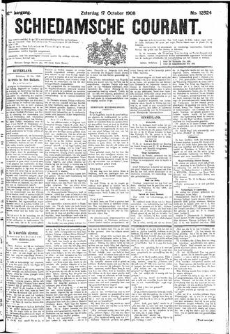 Schiedamsche Courant 1908-10-17