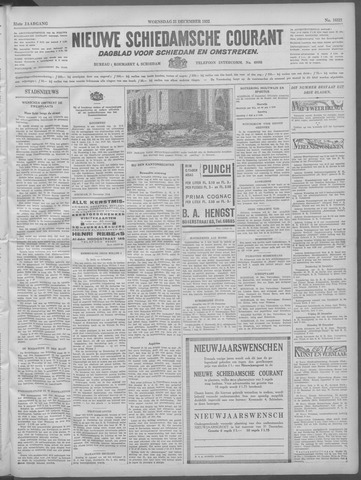 Nieuwe Schiedamsche Courant 1932-12-21