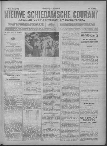 Nieuwe Schiedamsche Courant 1929-07-11