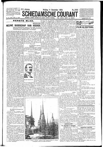 Schiedamsche Courant 1931-12-11