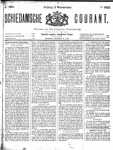 Schiedamsche Courant 1883-11-02