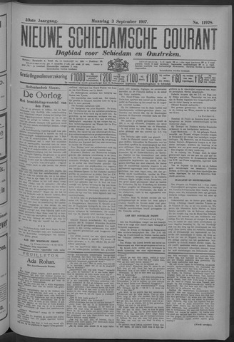 Nieuwe Schiedamsche Courant 1917-09-03