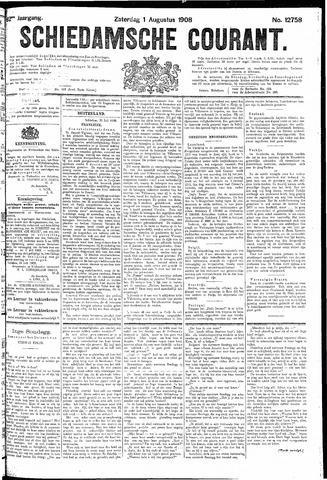 Schiedamsche Courant 1908-08-01
