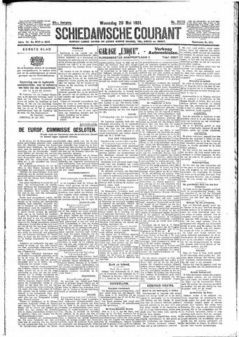 Schiedamsche Courant 1931-05-20
