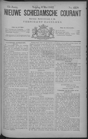 Nieuwe Schiedamsche Courant 1892-05-06