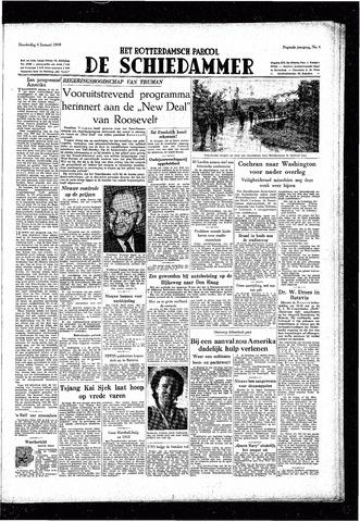Rotterdamsch Parool / De Schiedammer 1949-01-06