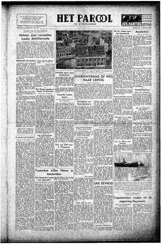 Rotterdamsch Parool / De Schiedammer 1947-03-12