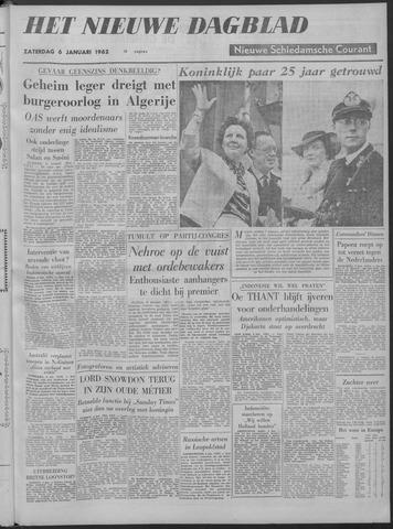 Nieuwe Schiedamsche Courant 1962-01-06