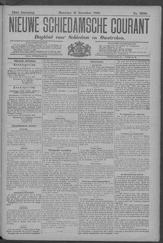 Nieuwe Schiedamsche Courant 1909-12-27