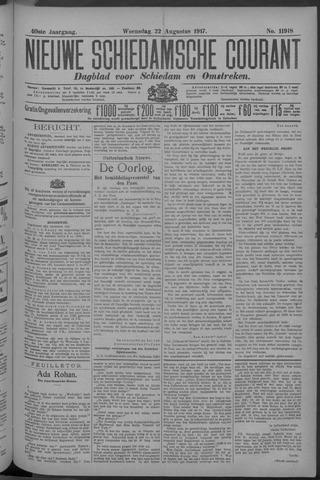Nieuwe Schiedamsche Courant 1917-08-22