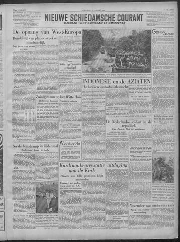 Nieuwe Schiedamsche Courant 1949-01-05