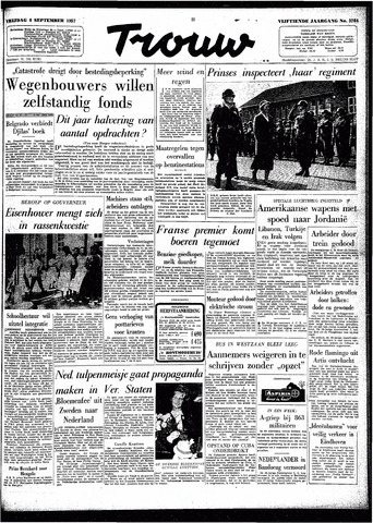 Trouw / De Rotterdammer 1957-09-06