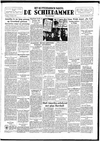 Rotterdamsch Parool / De Schiedammer 1947-10-17