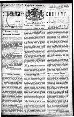 Schiedamsche Courant 1881-12-09