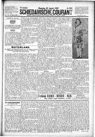 Schiedamsche Courant 1929-01-30