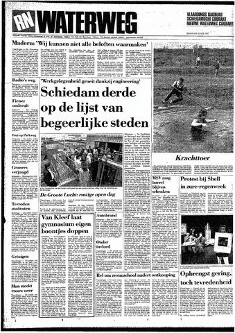 Rotterdamsch Nieuwsblad / Schiedamsche Courant / Rotterdams Dagblad / Waterweg / Algemeen Dagblad 1987-05-25