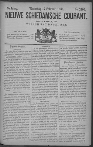 Nieuwe Schiedamsche Courant 1886-02-17