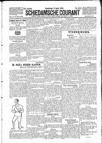 Schiedamsche Courant 1931-04-02