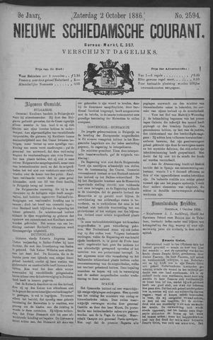 Nieuwe Schiedamsche Courant 1886-10-02