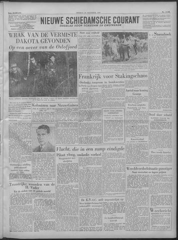 Nieuwe Schiedamsche Courant 1949-11-22