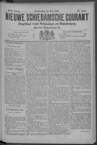 Nieuwe Schiedamsche Courant 1897-05-20