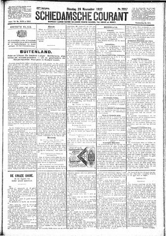 Schiedamsche Courant 1927-11-29