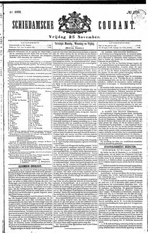 Schiedamsche Courant 1866-11-23