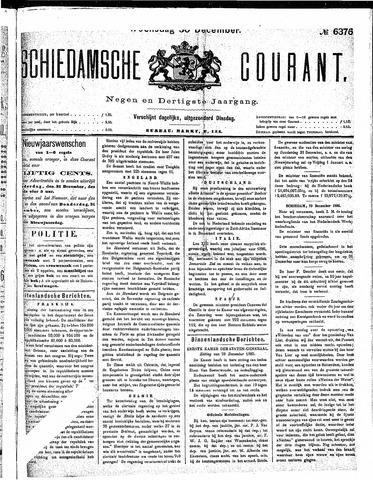 Schiedamsche Courant 1885-12-30