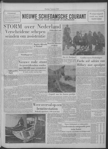 Nieuwe Schiedamsche Courant 1958-01-07