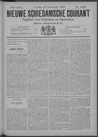 Nieuwe Schiedamsche Courant 1892-12-16
