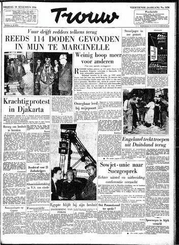 Trouw / De Rotterdammer 1956-08-10