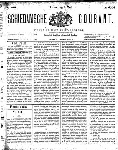 Schiedamsche Courant 1885-05-02