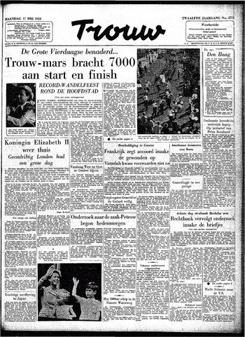 Trouw / De Rotterdammer 1954-05-17
