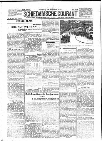 Schiedamsche Courant 1935-11-28