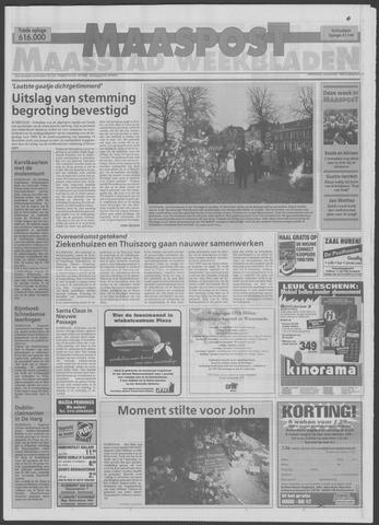 Maaspost / Maasstad / Maasstad Pers 1998-12-16