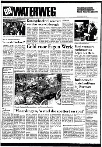 Rotterdamsch Nieuwsblad / Schiedamsche Courant / Rotterdams Dagblad / Waterweg / Algemeen Dagblad 1987-05-18
