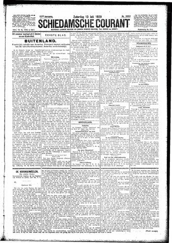 Schiedamsche Courant 1929-07-13
