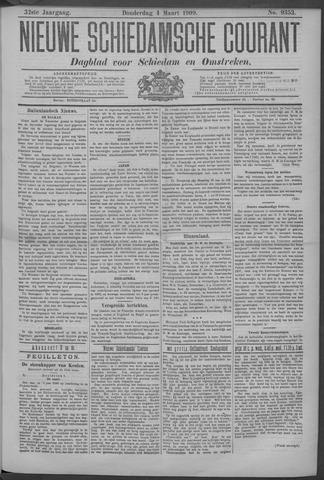 Nieuwe Schiedamsche Courant 1909-03-04